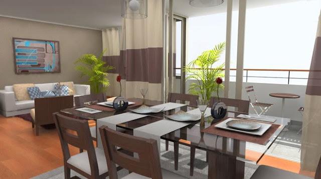 Fotos de salas modernas y comedores salas y comedores for Fotos living comedor