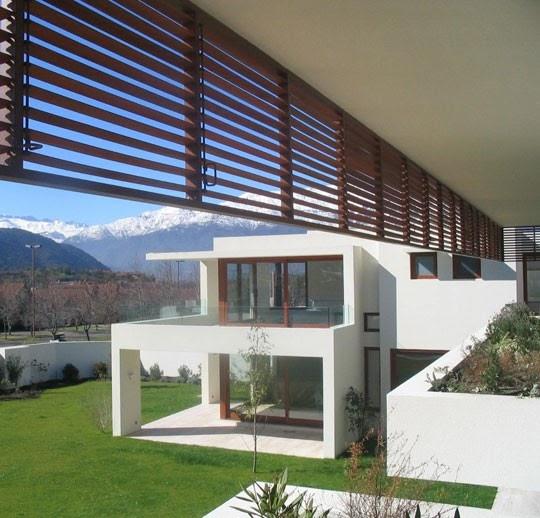 Fachadas de casa de 2 pisos arquitectura en chile - Fachadas arquitectura ...