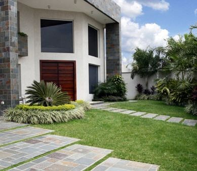 Fachadas de piedras fachadas de casas y casas por dentro Pisos para exteriores de casas modernas