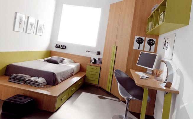 Pon linda tu casa dormitorios for Recamaras para jovenes minimalistas
