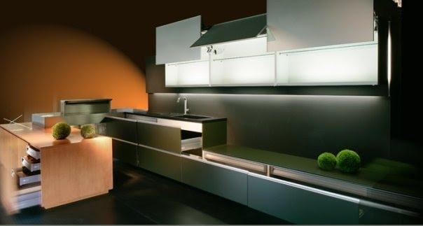 Cocinas minimalistas y cocinas zen : cocina y reposteros ...
