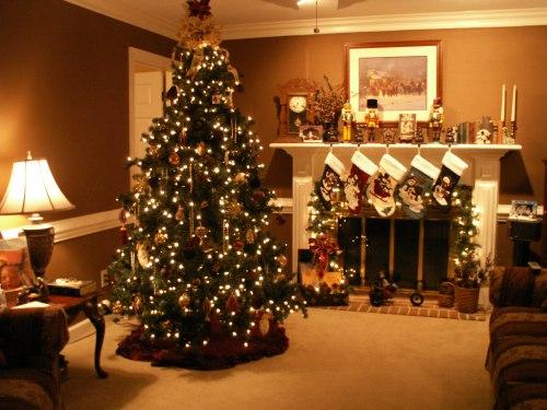 Decorar La Sala Para Navidad Salas Y Comedores Decoracion De Living Rooms Decoration