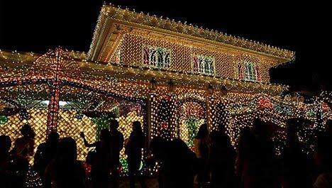 fachadas navideas ideas para decorar fachadas con luces de navidad