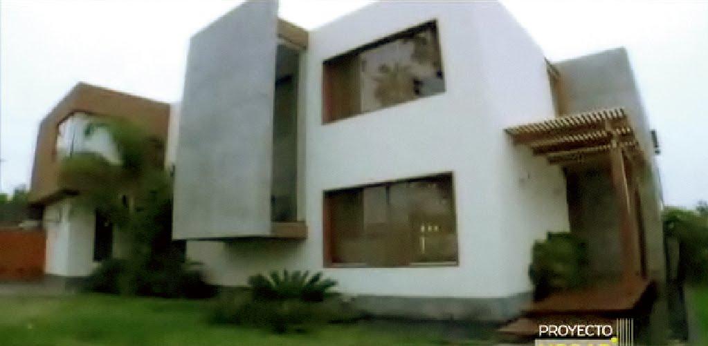 Casa bonita en villa fachadas de casas y casas por dentro for Casas modernas por dentro