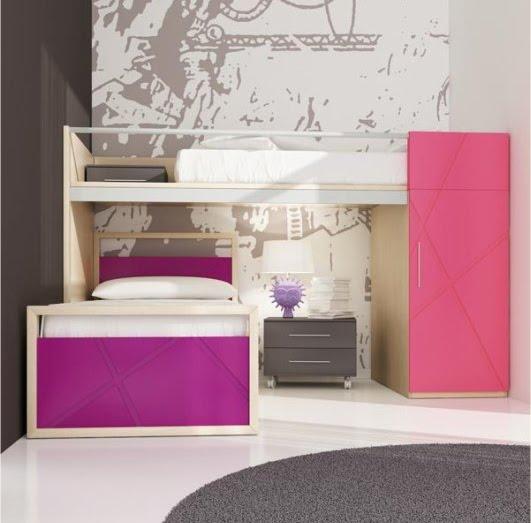 Dormitorios juveniles habitaciones convertibles for Programa diseno habitaciones