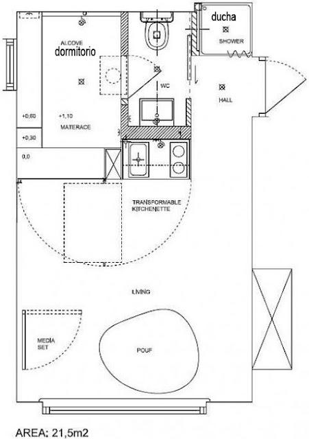 Planos de casas gratis y departamentos en venta agosto 2010 for Departamentos pequenos planos