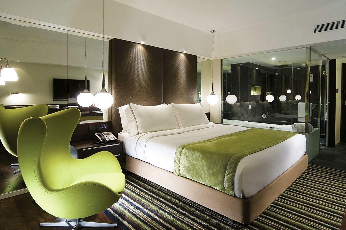 Dormitorios con ba o integrado habitaciones de lujo del for Dormitorios elegantes