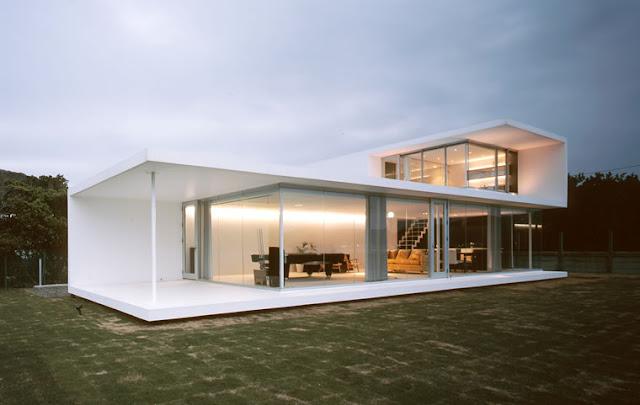 Fachadas minimalistas casas estilo minimalista fachadas for Decoracion casa minimalista