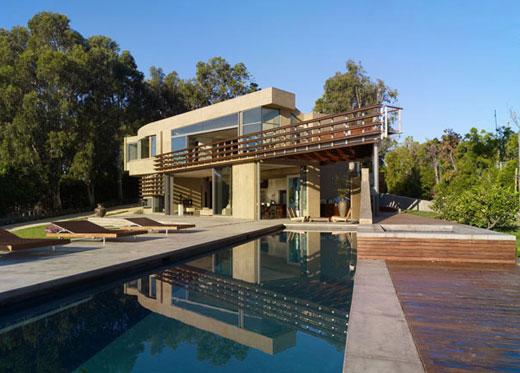 casas modernas por dentro. Moderna casa de lujo de estilo