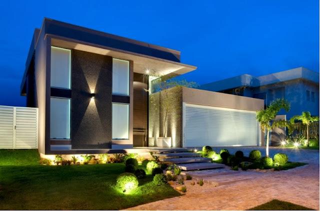 fachadas bonitas y modernas casa alphaville fachadas