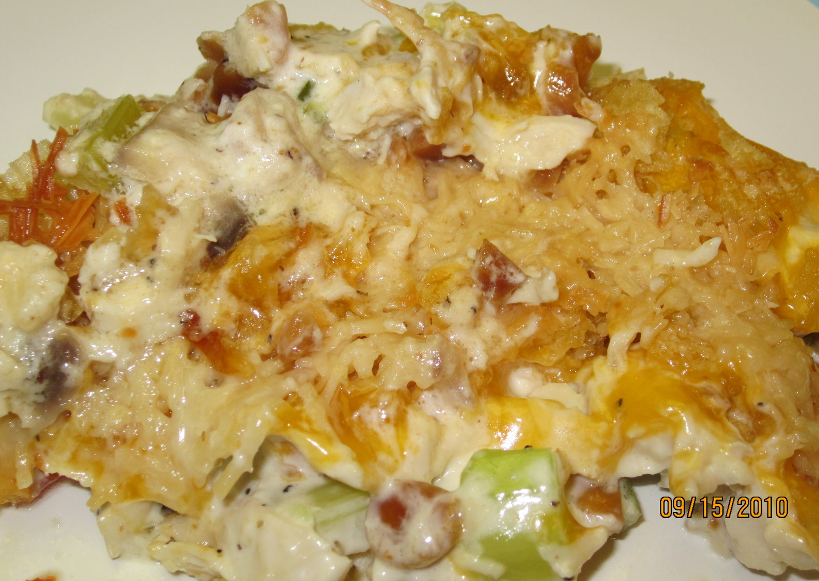 Heather Bug Bakes: Crunchy Chicken Casserole