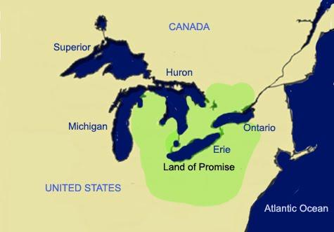 NephiCode Great Lake Theorists Ignoring Disagreeing Scripture - Lake huron on us map