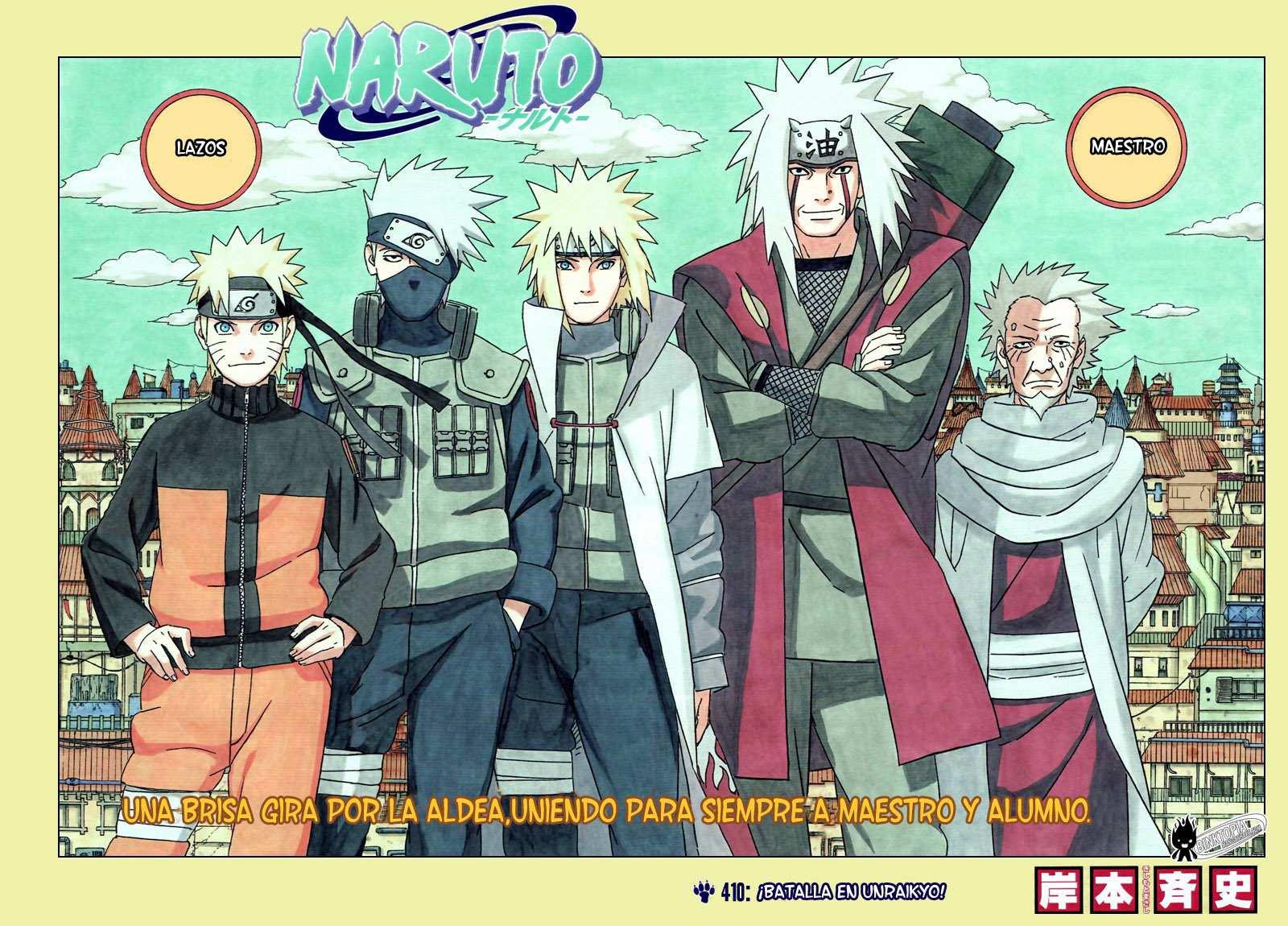 Ocio Pirata: Naruto. Manga