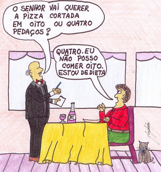 Alma Gorda levando sua dieta muito a sério!