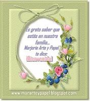 Bienvenida al Blog de Marjorie