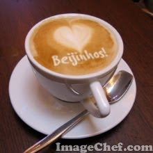Café con besitos! Mmmmmm...