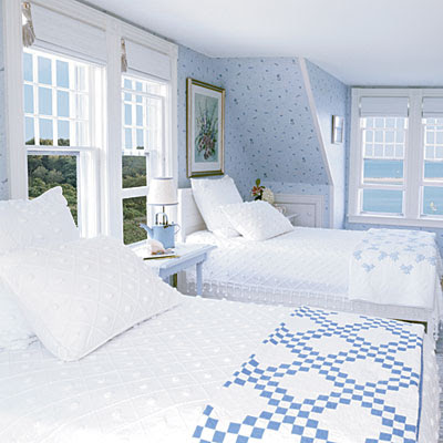 A Coastal Summer: Beachy Bedroom Ideas