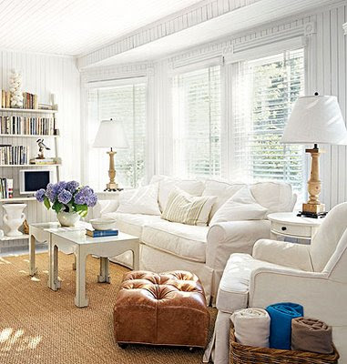 Home Decor: Cottage Living Rooms