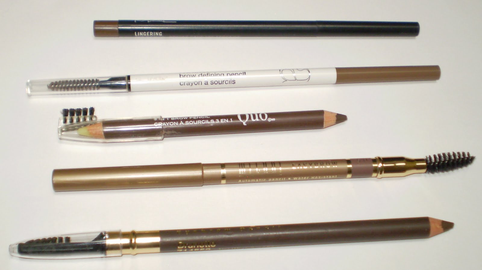 The best eyebrow pencil for brunettes shoot