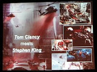 Tom Clancy meets Stephen King