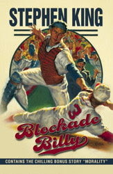 cover art for Blockade Billy Scribner edition including short story Morality