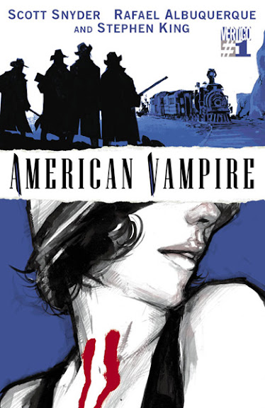 American Vampire #1 second printing cover
