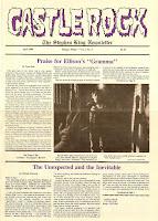 スティーヴン・キングのオフィシャルニュースレター1986年4月Vol.2No.4