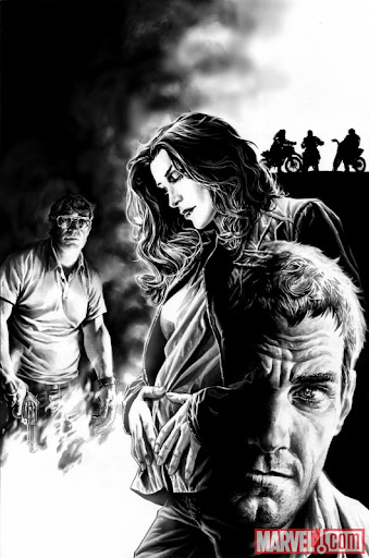 The Stand: Soul Survivors #3 Bermejo Black and White cover