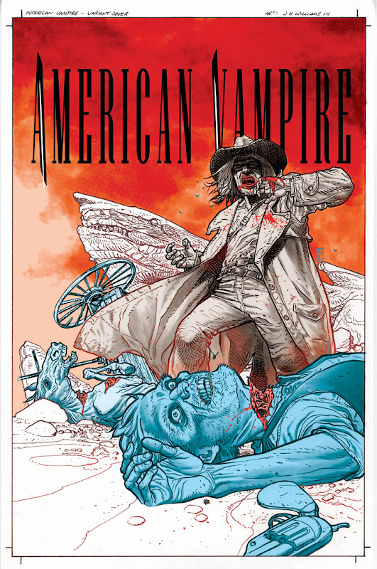 American Vampire #4 JH Williams III variant cover