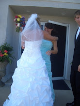 Madz and me on her wedding day.
