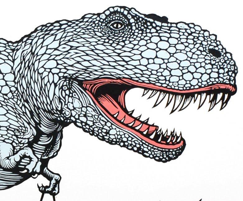 linocut prints new linocut dinosaur print linocutboy