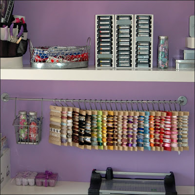 Ribbon Storage Ideas