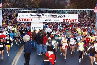 Mud Pies and Froggy Tales: Seattle Marathon Countdown!