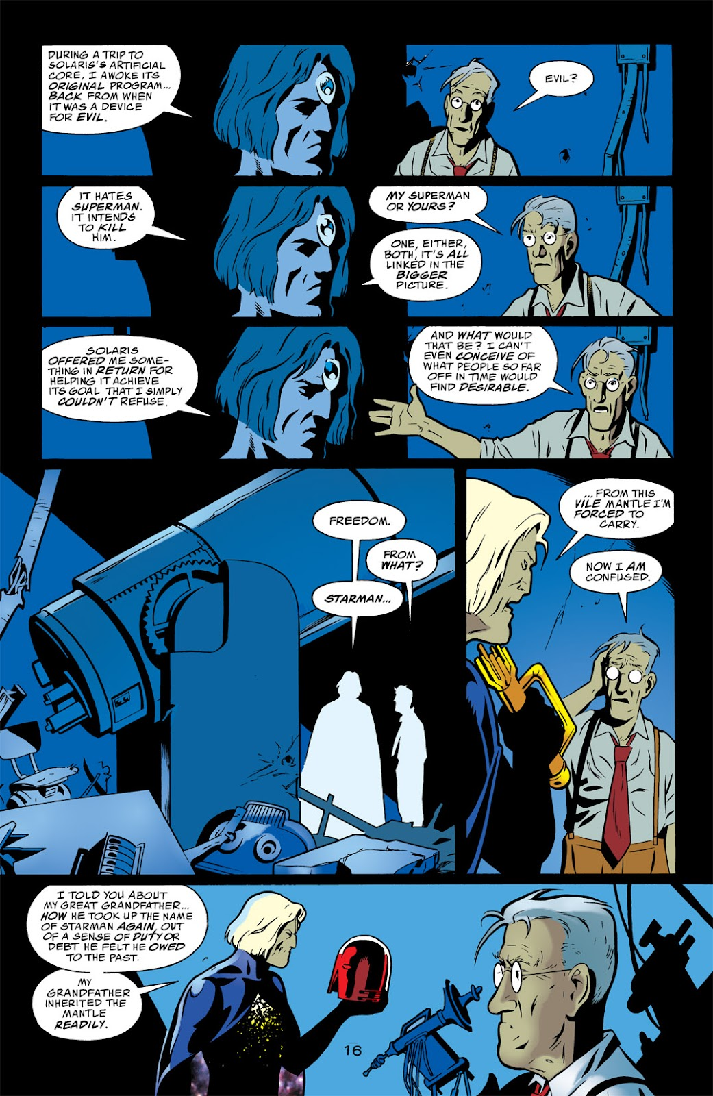 Starman (1994) Issue #1000000 #83 - English 16