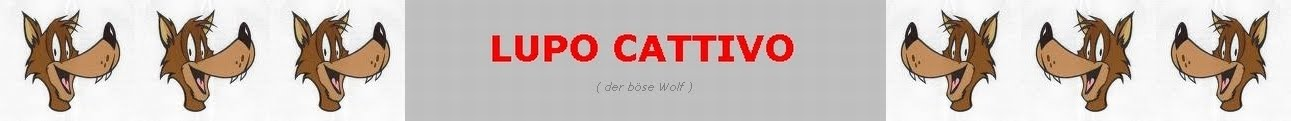 LUPO CATTIVO -english-