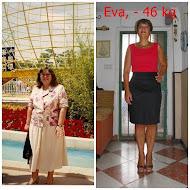 Eva, -46 kilos