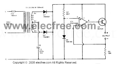 NICAD BATTERY CHARGER CIRCUIT