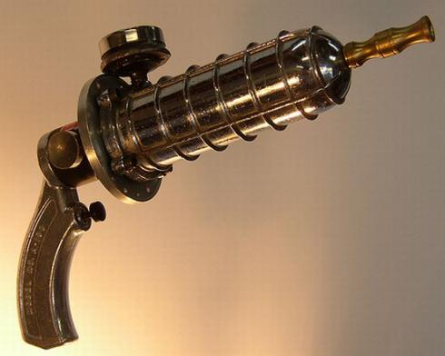 Weapons for the Smart People Gun-sci-fi-steampunk