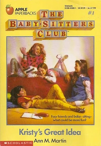 Baby-sitters Club would be 37. Let's see what everyone's up to. Kristy