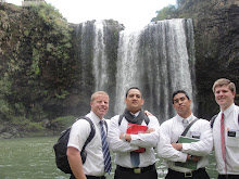 Zone leaders at Whangarei Falls