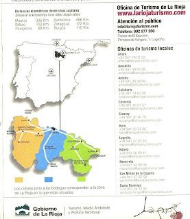 El blog de una cepa arar folleto wine tourism in la rioja for Oficina correos logrono