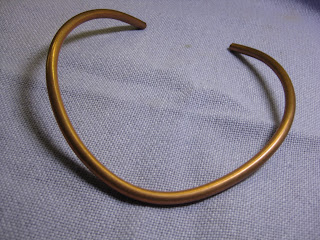 New Jewelry A Day Make A Neck Ring From Copper Pipe