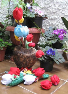 artemelza - tulipa de fuxico
