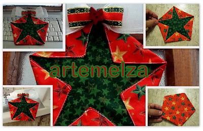 artemelza - estrela de natal