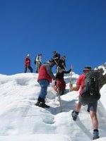 Fox Glacier heli-hikers