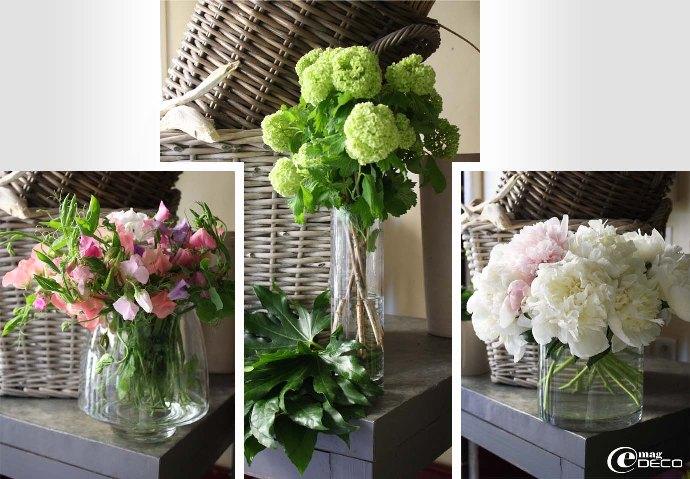 Pour commencer un bouquet de fleurs, création de Philippe Martinez