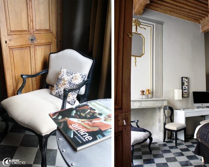 La Suite terrasse n°201 de la maison d'hôtes L'Albiousse