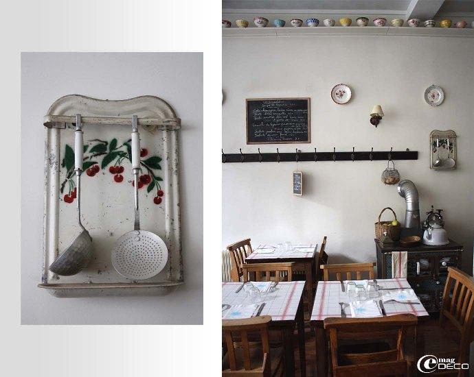La salon de thé Mamie Gâteau à Paris