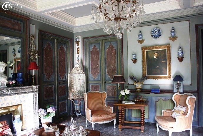 Salon d'apparat du Château de Christin