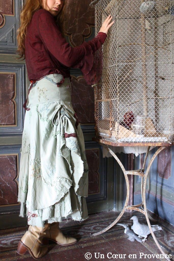 Sarah porte une jupe Ewa i Walla